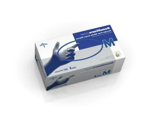 Medline SensiCare Nitrile Gloves 250 Ct.