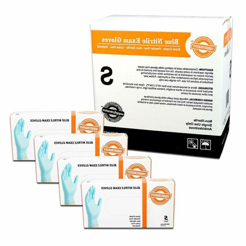 smblne3s exam nitrile gloves disposable powder free