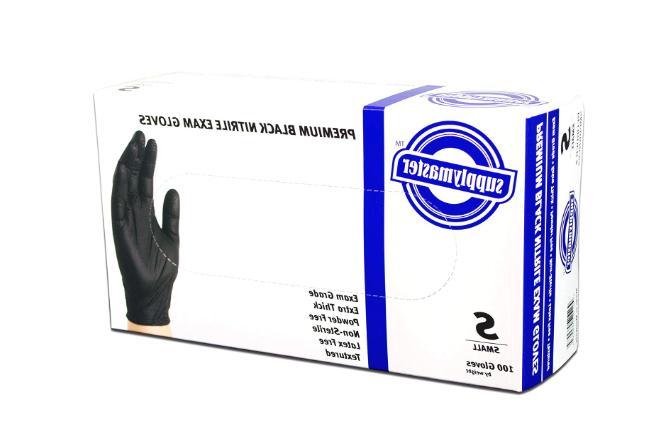 SupplyMaster - SMPBKNE6S Premium Exam Nitrile - Powder