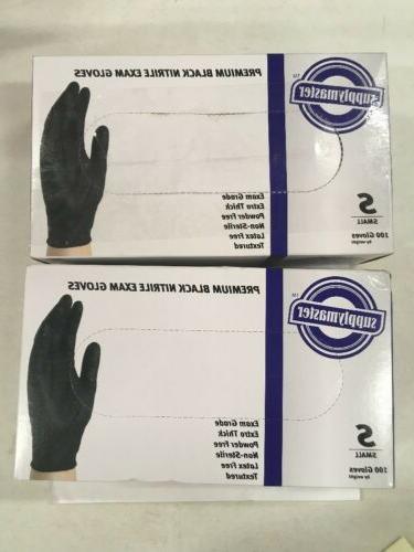 smpbkne6s premium exam nitrile gloves smal 100