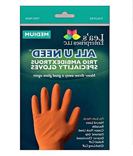 u need specialty cleaning gloves