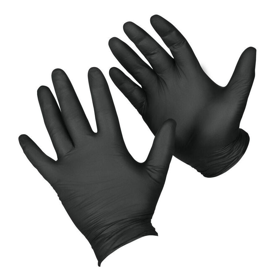 Venom Disposable Gloves Box - Black