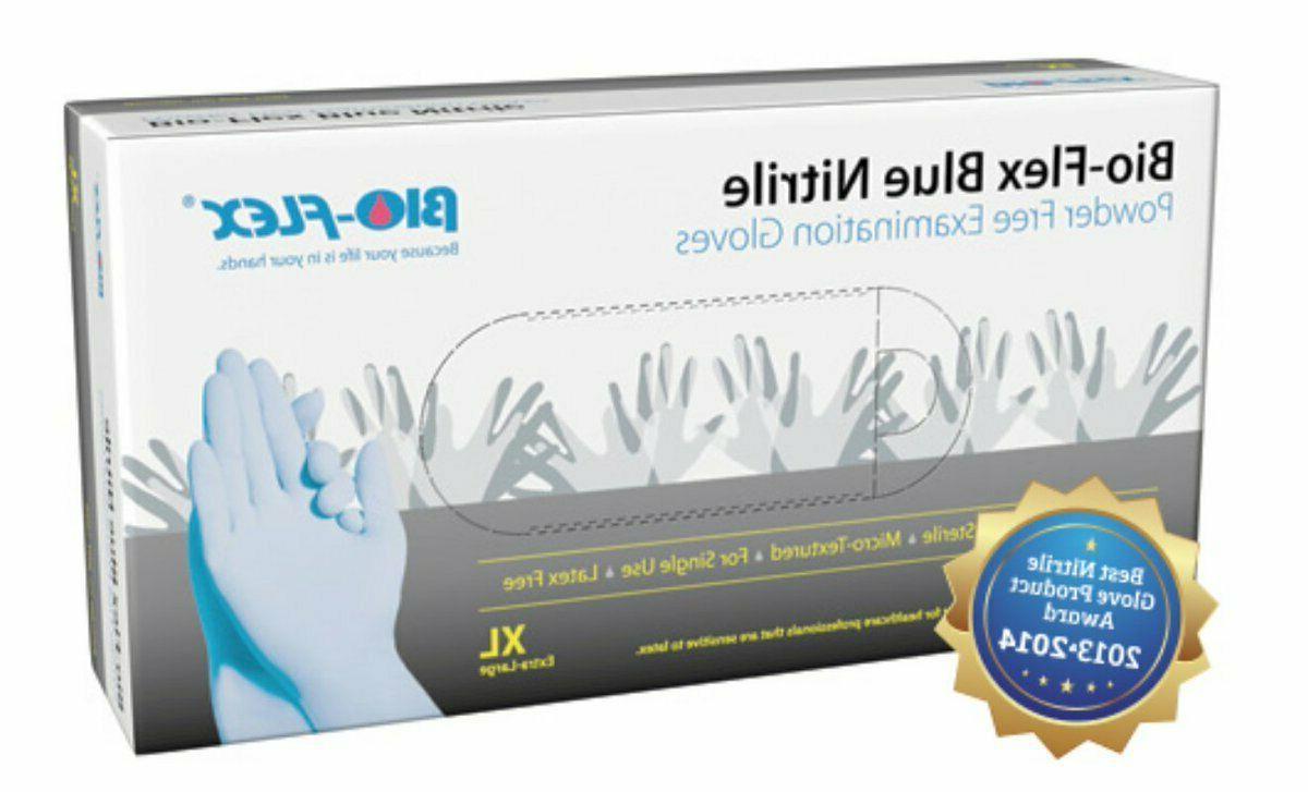 vinyl nitrile latex powder free examination gloves