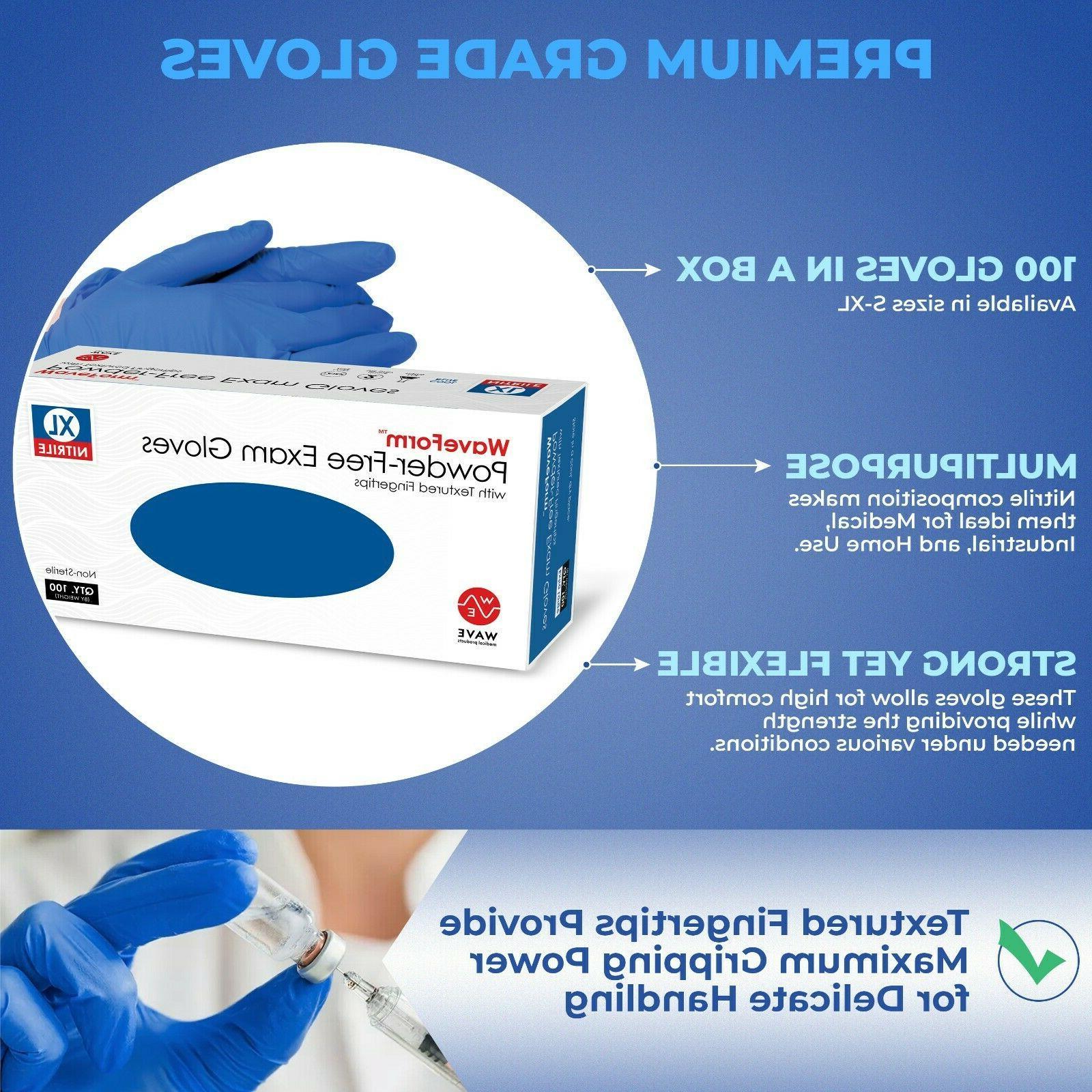2000 Disposable Gloves Powder Non