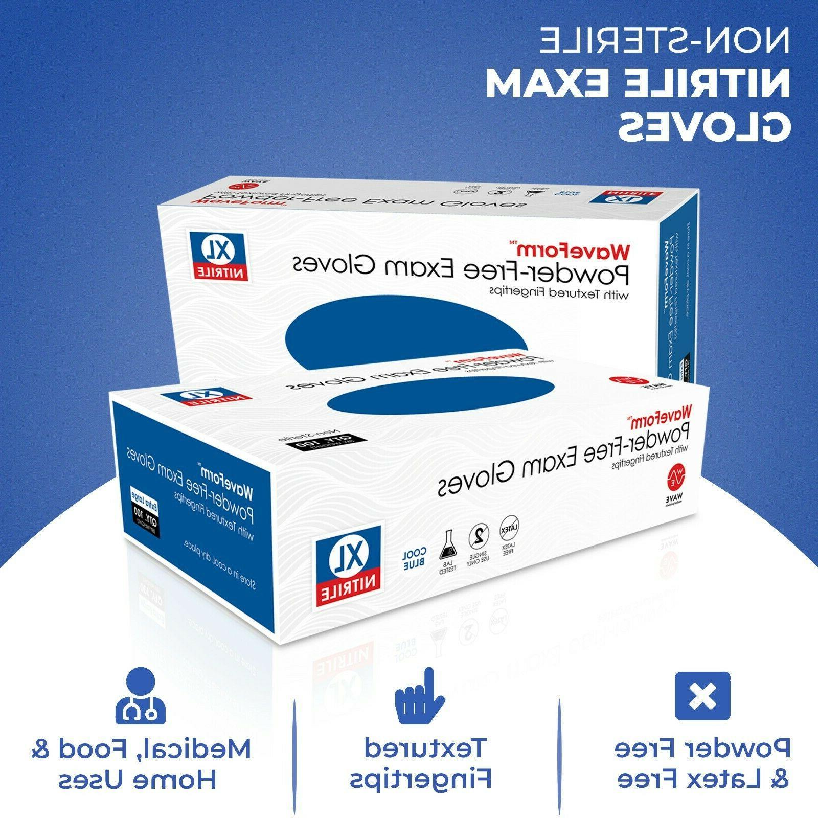 Premium Medical Nitrile Exam Latex Free Disposable Gloves