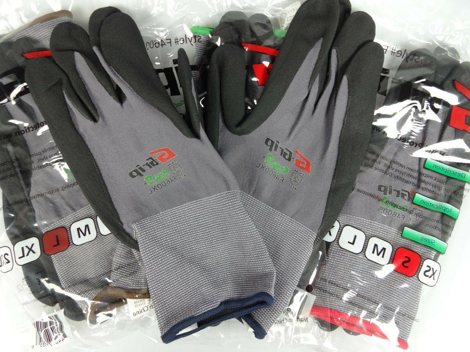 Work Gloves Foam Nitrile Coated