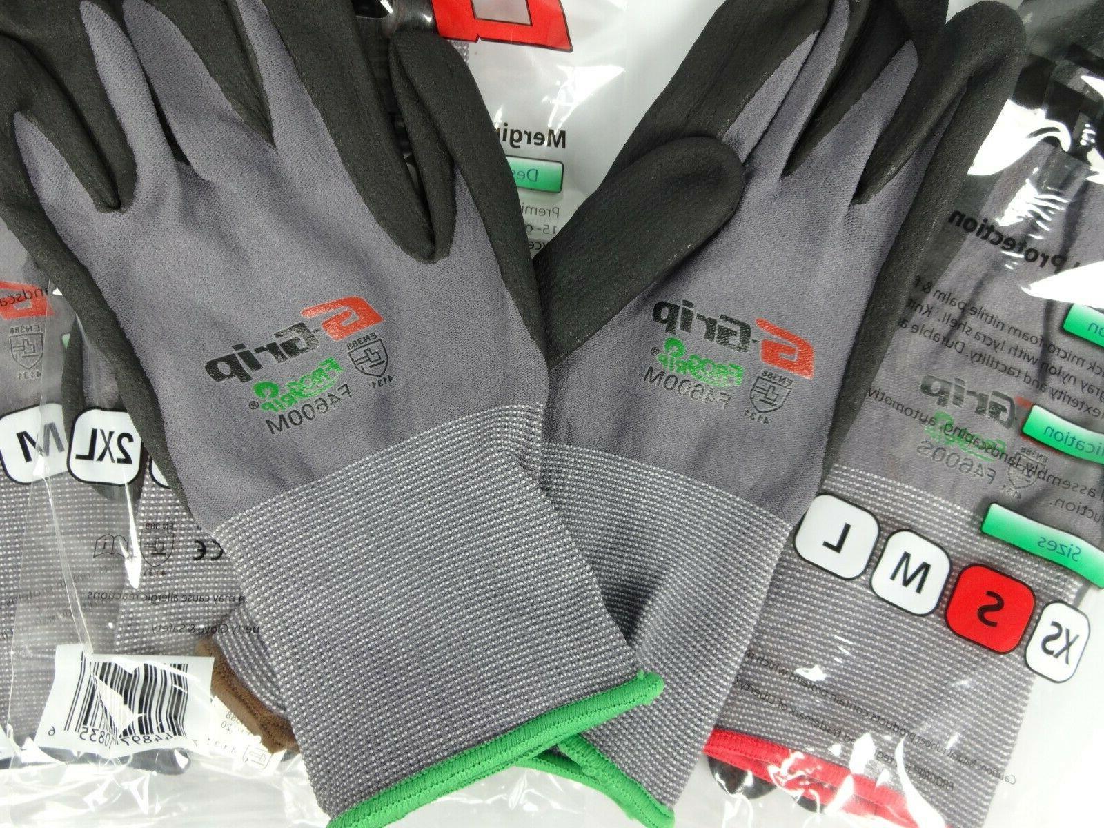 Work Gloves Foam Coated F4600