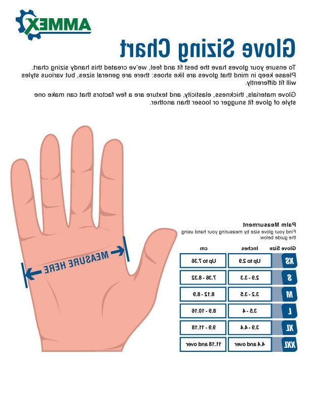 AMMEX Disposable Powder-Free Latex Gloves