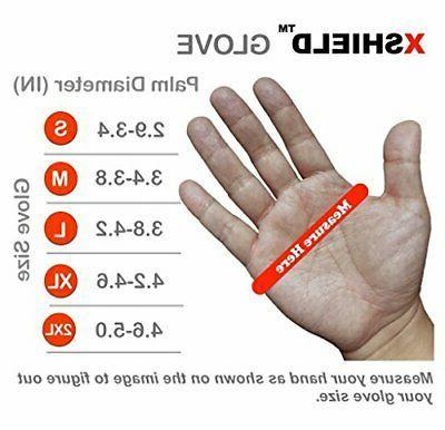 XSHIELD 17-PMG,Ult Micro Foam Nitrile Grip Safety Work Gloves 3 Medium