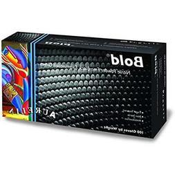 Lab Safety & Work Gloves Aurelia Bold, Black Nitrile Gloves,