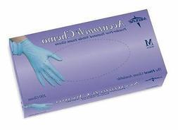 MEDLINE Latex Gloves ACCUTOUCH  NITRILE EXAM GLOVES BLUE - M