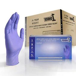 light indigo nitrile exam latex free disposable