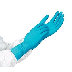 Long Cuff Nitrile Gloves Large