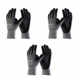 MaxiFlex® Ultimate 34-874, 3 Pair Pack Nitrile Grip Gloves