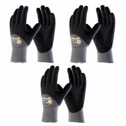 MaxiFlex® Ultimate 34-875 3/4 Dip, 3 Pair Pack Nitrile Grip