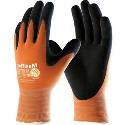 MaxiFlex Ultimate Nitrile Foam Coated Nylon Work Gloves, Ora