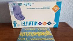 The Safety Zone Medical Grade Nitrile Gloves 100 Ct. Medium