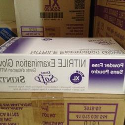 Skintx Medical Grade Soft Nitrile Disposable Gloves, Box of