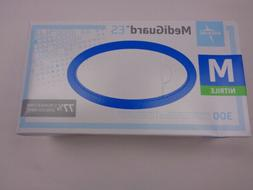 Medline MediGuard ES Nitrile Exam Gloves 300 Powder-Free Med