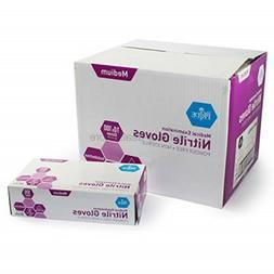 MED PRIDE MedPride Powder-Free Nitrile Exam Gloves, Medium,