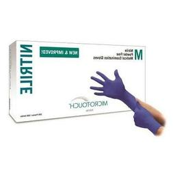 Ansell Micro Touch Nitrile Exam Glove X-Large 2000/Cs 603430