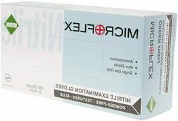 Microflex Nitrile Exam Gloves Powder-Free, Latex Free  -Medi