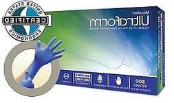 ANSELL MICROFLEX ULTRAFORM® POWDER-FREE NITRILE EXAM GLOVES