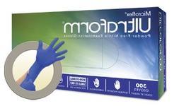 Microflex UF524M Ultraform Powder Free Nitrile Glove Size Me