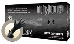 MidKnight Black Powder-Free Nitrile Examination Gloves -XL