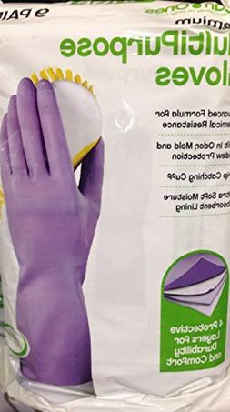 Multipurpose Household Gloves Medium 9 Pairs