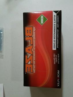 Micro Flex N482 Blaze Powder Free Nitrile Exam Gloves, mediu
