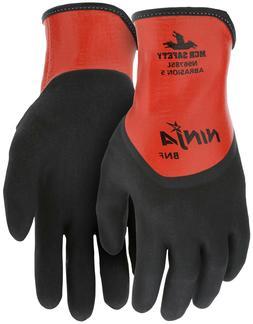 MCR Safety Ninja BNF Nitrile Coated Waterproof Nylon Work Gl