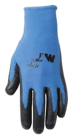 Wells Lamont Nitrile-Coated Work Gloves, Youth, Ages 4 to 7