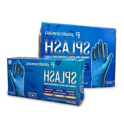 Blue Nitrile Dental Medical EXAM Disposable Gloves  Sz XS-XL