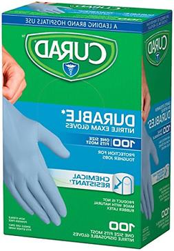 Nitrile Disposable Exam 200Gloves Durable and Chemical Resis