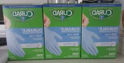 Curad Nitrile Disp. Exam Gloves Lot of 3 Durable/Chemical Re