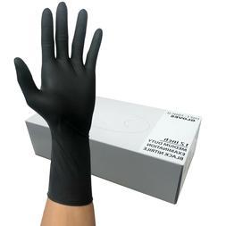 "Nitrile | Heavy Duty | Gloves | 12"" Length | 8mil | Black |"