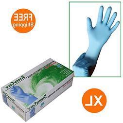 SunnyCare #8804-1BOX Nitrile Disposable Gloves Powder Free S