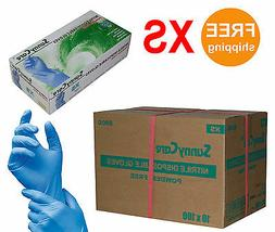 SunnyCare® #8800 Nitrile Disposable Gloves Powder Free  XS