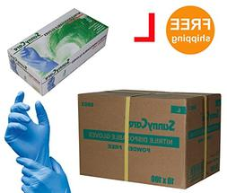 SUNNYCARE #8803 Nitrile Disposable Gloves Powder Free Size: