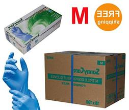 SUNNYCARE #8802 Nitrile Disposable Gloves Powder Free Size: