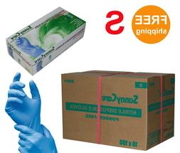 SUNNYCARE #8801 Nitrile Disposable Gloves Powder Free Size: