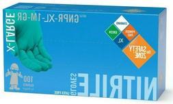 NITRILE Disposable Powder Free Latex Free gloves 4.1mil 100