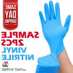 Nitrile Exam Gloves 100 pcs  LARGE Size 4 Mil Thick