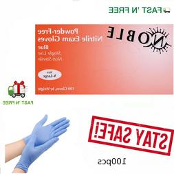Nitrile Exam Gloves 100 pcs  X-Large Size 4 Mil Thick