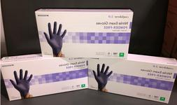 McKesson Nitrile Exam Gloves M - Lot of 3 - Free Shipping
