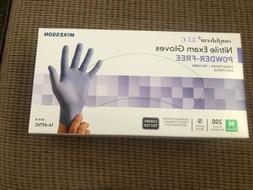 nitrile exam gloves powder free 200 total