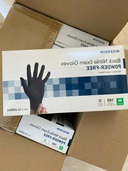McKesson Nitrile Exam Gloves powder-free M Medium 100