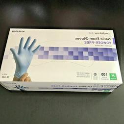 McKesson Nitrile Exam Gloves Powder-Free Size M 100 ct. Conf