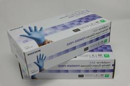 McKesson Nitrile Exam Gloves Power-Free Size MEDIUM 100 ct.